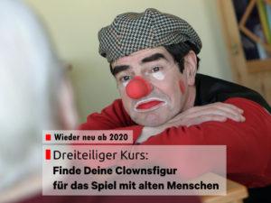 Neu 2020 - Kurs - Finde Deine Clownsfigur - Ulrich Fey
